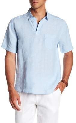 Trunks Surf and Swim CO. Island Linen Popover Shirt