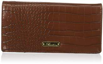 Buxton Women's Nile Exotic Expandable Clutch
