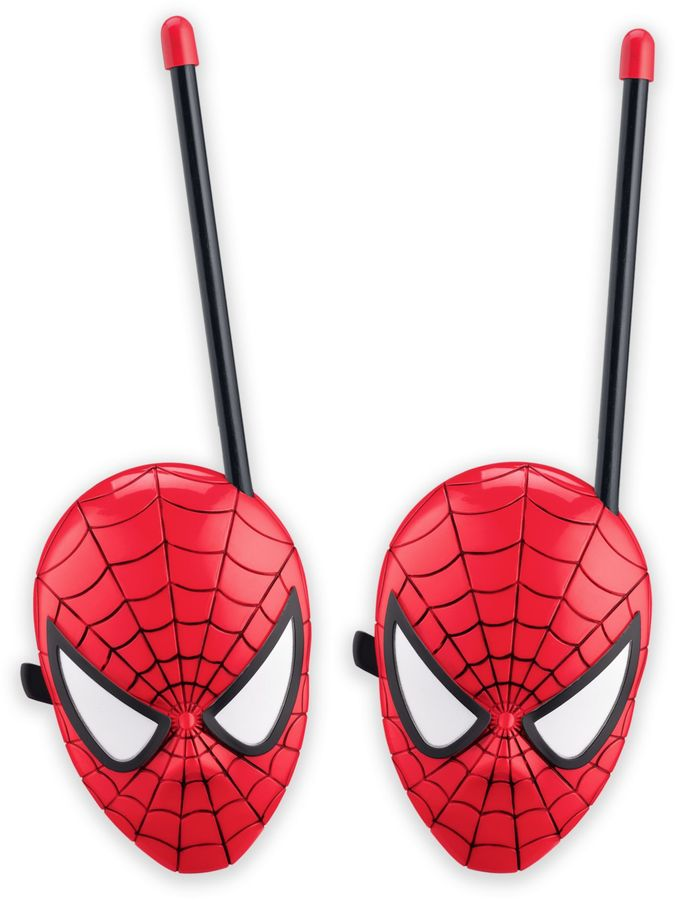 Spiderman Web Slinger Short Range Walkie Talkies (Set of 2)