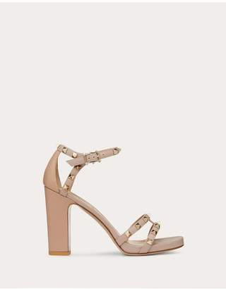 07b282606d7d7 Valentino Rockstud Grainy Calfskin Sandal 105 Mm