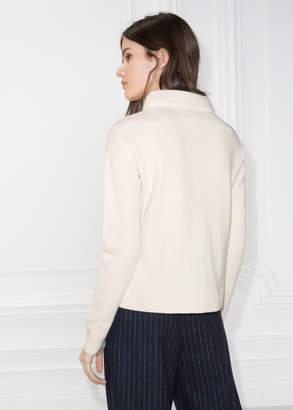 Wide Collar Sweater