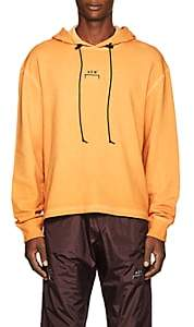 A-Cold-Wall* Men's Logo Cotton Terry Hoodie - Yellow