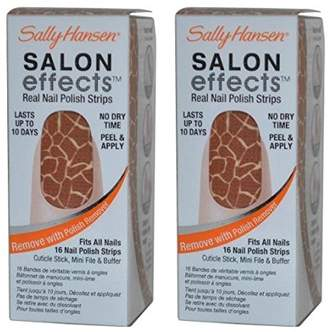 Sally Hansen (! Salon Effects Real Nail Polish Strips Queen of Jungle by