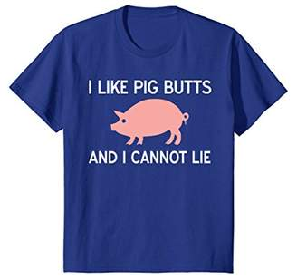 I Like Pig Butts and I Cannot Lie - Funny Pig T-Shirt