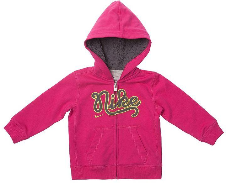 Nike faux-shearling hoodie - toddler