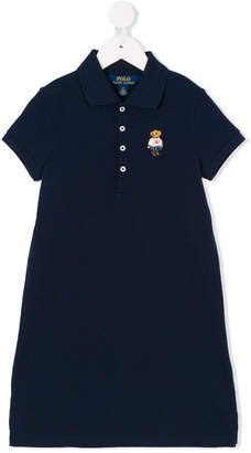 Ralph Lauren Teddy logo polo dress