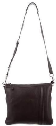 Gucci Leather Medium Messenger Bag