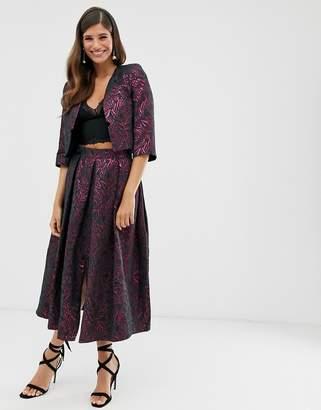 Closet London Closet pleated midi skirt