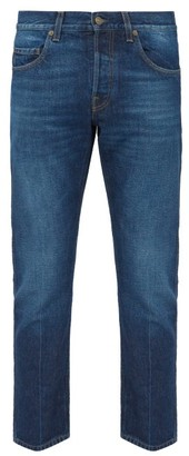 Gucci Straight Denim Jeans - Mens - Dark Blue
