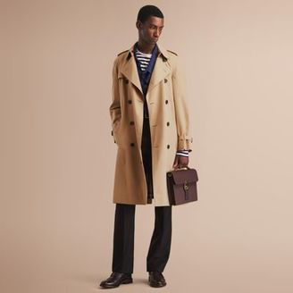 Burberry The Westminster – Long Heritage Trench Coat $1,895 thestylecure.com