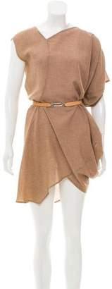 Zero Maria Cornejo Asymmetric Drape Dress