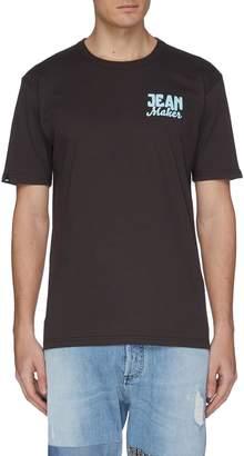 Denham Jeans 'Netherland' slogan print back T-shirt