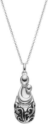 Sentimental Expressions Sterling Silver Mother's Pride & Joy Necklace