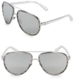 87f2e0e3f587 at Off 5th · Linda Farrow Luxe Mist 61MM Aviators Sunglasses
