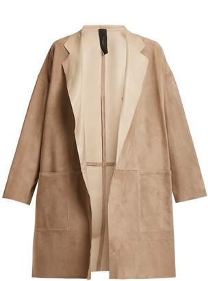 DAY Birger et Mikkelsen GIANI FIRENZE Notch-lapel suede coat
