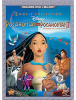 Disney Pocahontas and Pocahontas II 3-Disc Set