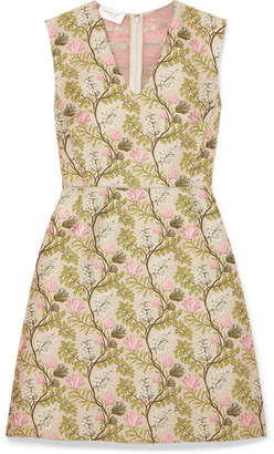 Giambattista Valli Floral-jacquard Dress - Pink