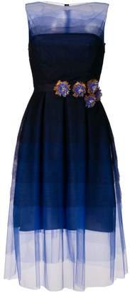 Sale Get Authentic Poemas1 tulle dress - Blue Talbot Runhof Buy Cheap Price 9m7DCKr