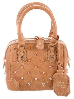 Alice + Olivia Spiked Leather Satchel