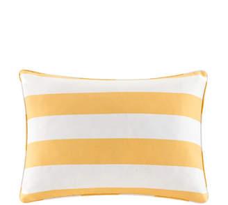 "Jla Home Madison Park Percee 14"" x 20"" Printed Cabana Stripe 3M Scotchgard Outdoor Oblong Pillow"