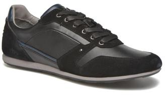 Men's Langton Low Rise Trainers In Black - Size Uk 9.5 / Eu 44