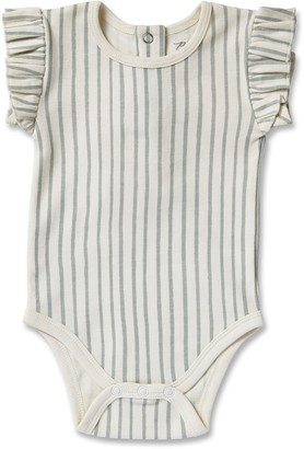 Pehr Stripes Away Ruffle Bodysuit
