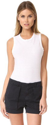 James Perse Tomboy Tank $85 thestylecure.com