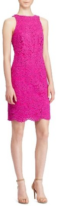 Women's Lauren Ralph Lauren Corded Lace Dress $195 thestylecure.com