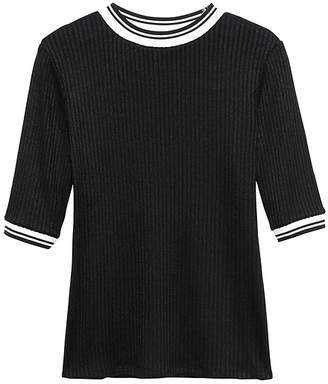 Banana Republic Luxespun Ringer T-Shirt