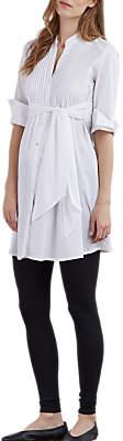 Isabella Oliver Libby Tunic Maternity Dress, White