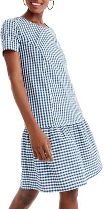 J.Crew Universal Standard for Drop Waist Poplin Dress