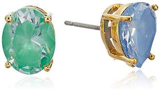 "Kate Spade Asymmetrical Studs"" Flying Colors Asymmetrical Jet Multi Stud Earrings"