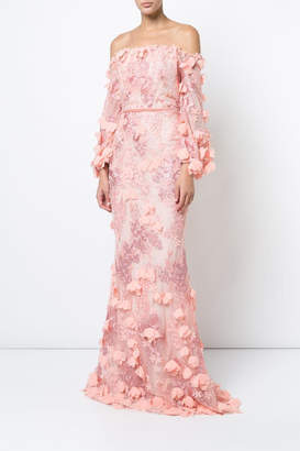 86c848db Marchesa Pink Embroidered Dresses - ShopStyle UK