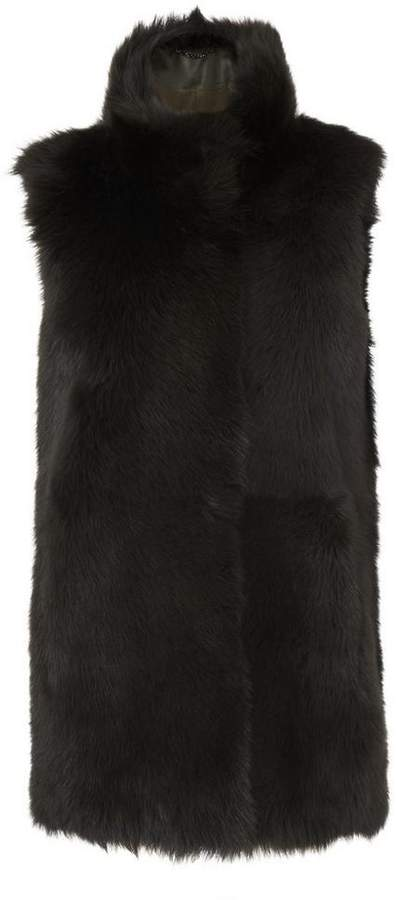 Willa Forest Sheepskin Coat