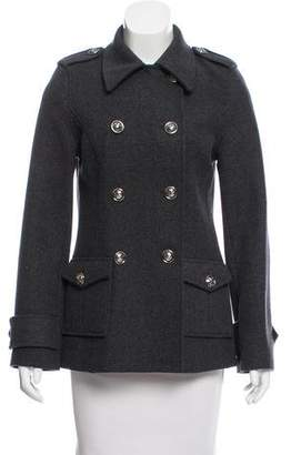 Tory Burch Wool Double-Breasted Jacket