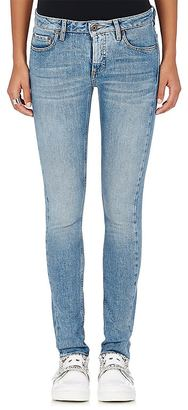 Off-White c/o Virgil Abloh Women's Embroidered Skinny Jeans $740 thestylecure.com