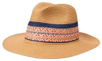 Crazy 8 Straw Panama Hat