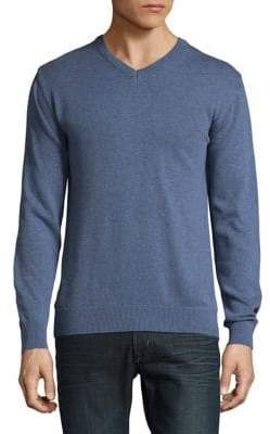 Rover and Lakes Cotton V-Neck Sweater