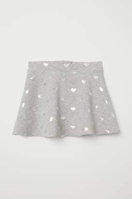 H&M Jersey Circle Skirt - Gray