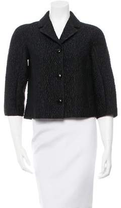 Michael Kors Notch-Lapel Textured Jacket