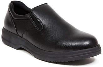 Deer Stags Men's Manager Memory Foam Slip Resistant Oil Resistant Non Marking Dress Comfort Slip-On Men's Shoes