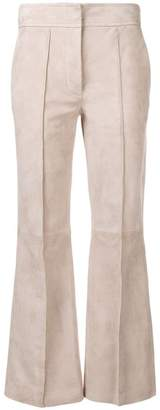 Joseph front seamed cropped trousers