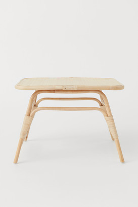 H&M Coffee table with rattan