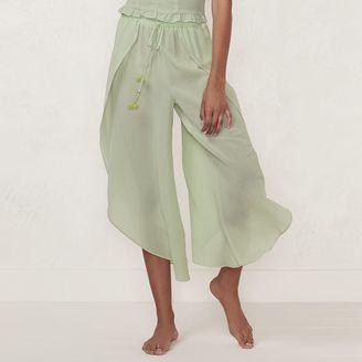 Women's LC Lauren Conrad Beach Shop Envelope-Hem Capri Pants $54 thestylecure.com