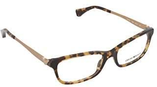 Emporio Armani Women's Prescription Eyewear Frame Brown
