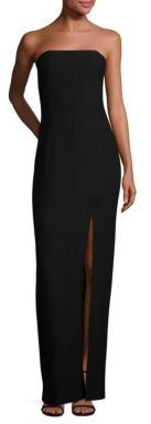 Elizabeth and James Carly Mia Off-Center Slit Gown $695 thestylecure.com