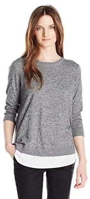 Calvin Klein Women's 2 Fer Pullover