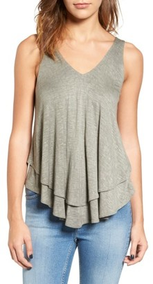 Women's Soprano Layered Swing Tank $29 thestylecure.com