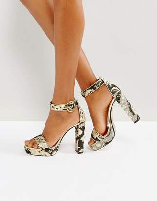Ted Baker Jewll Ornate Paisley Platform Sandals
