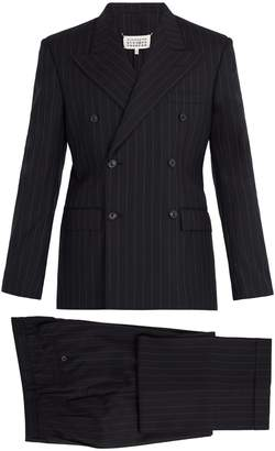 Maison Margiela Pinstripe double-breasted suit